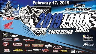 Kenny Yoho's 2019 Florida I4MX Series RD1 South from Florida Cycle Park
