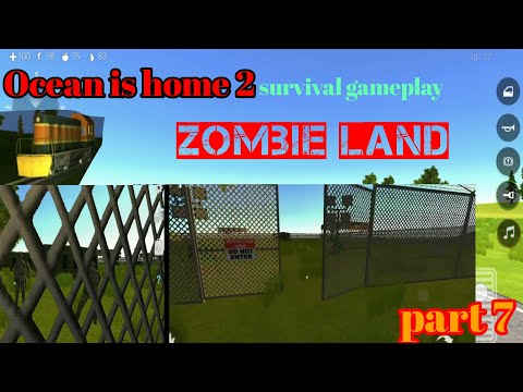 Ocean is home 2 || Part 7 || Zombie land || where to find crops seeds ||