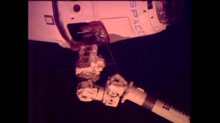 SpaceX Dragon Commercial Cargo Ship Arrives at the International Space Station