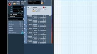 Cubase 5 (Создание и назначение аудио треков)