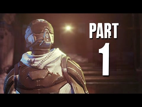 Destiny Walkthrough Part 1 - JOURNEY BEGINS - Playthrough / Let's Play Gameplay PS4