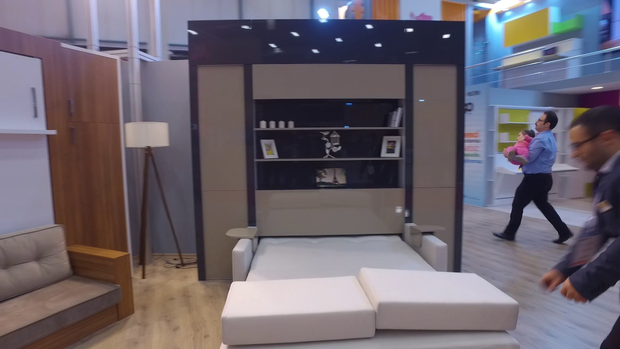 Electric Murphy Bed Multimo Electric Wall Bed Youtube