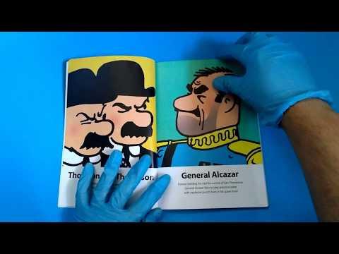 UNBOXING Tintin 'mini' Comic (PLUS : size comparison)