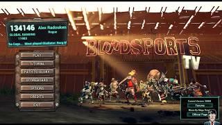 Bloodsports TV vicio game divertido é bom demais