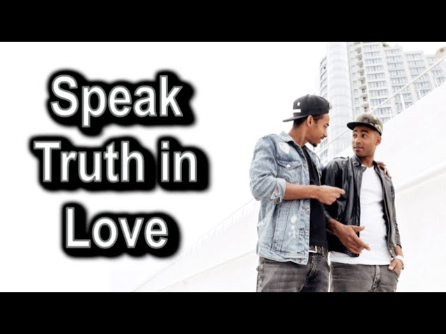 Speak Truth in Love, 1 Timothy 1:3-11 – July 26th, 2020