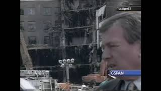 John Ashcroft Media Announcement Regarding the 9/11 Attacks (9/19)