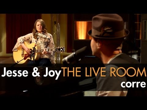 Jesse & Joy  Corre captured in The  Room