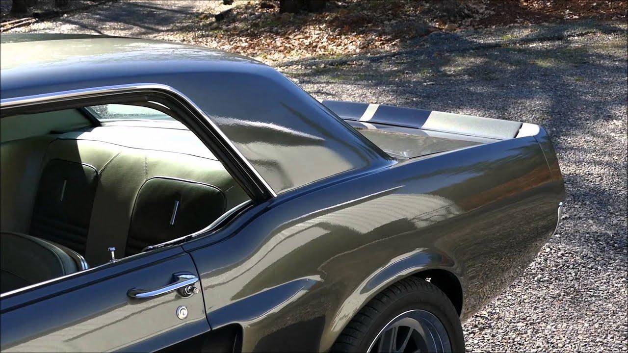 1967 Mustang Eleanor Interior