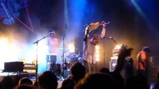 Tocotronic - Explosion (& Outro Ingrid Caven: Die großen weißen Vögel) - live München 2013-11-04