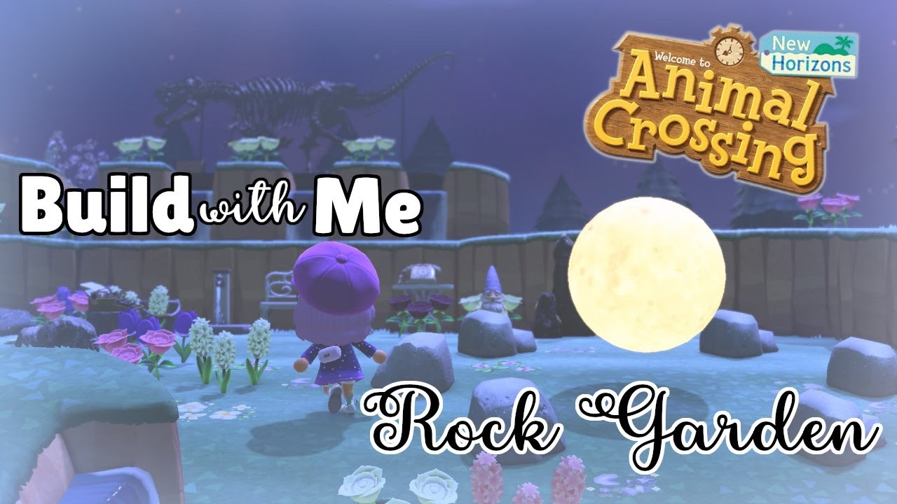Build with Me: Rock Garden *chaotic* | Animal Crossing New ...