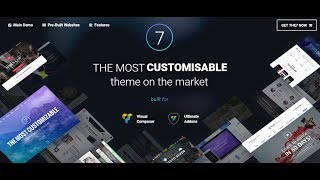 The7 — Multi-Purpose Website Building Toolkit for WordPress (Best WordPress Theme)