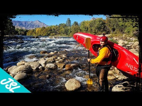 Whitewater Kayaking on the Kern River - MY FIRST TIME EVER!