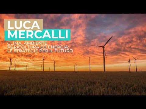 Clima, ambiente, agricoltura ed energia: le strategie per il futuro. Luca Mercalli a Pollenzo - full