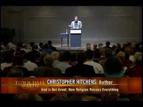 Christopher Hitchens in Seattle - Part 8