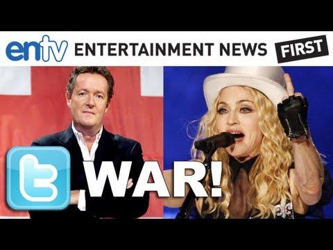Piers Morgan vs Madonna Twitter War: CNN Host Lashes At Madonna: ENTV