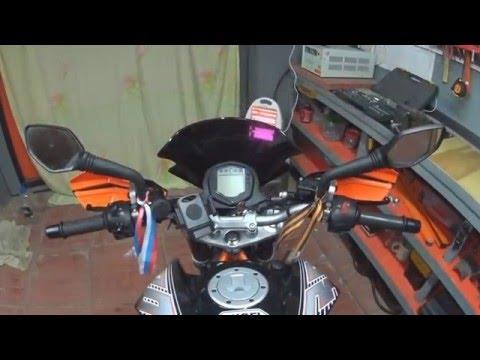 Защита рук открытого типа на KTM