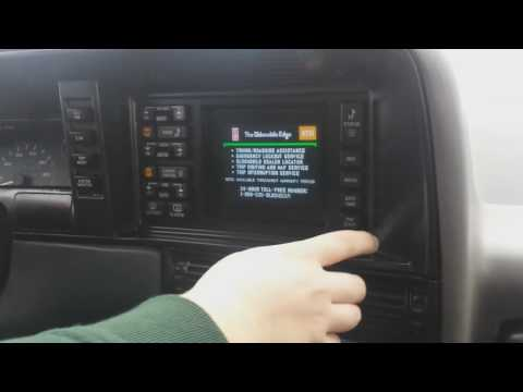 Visual Information Center Walkthrough |1992 Oldsmobile Toronado Trofeo|