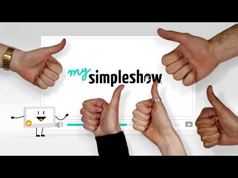 mysimpleshow Create your own simpleshow now. Quickly. Simple. Professional.