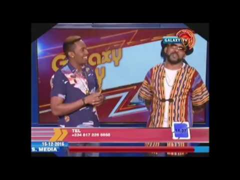 Banky W with OAP Emmy on Galaxypartytime