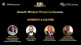 Diversity & Culture: Growth Mindset Virtual Conference