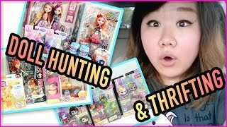 TOY HUNTING & THRIFTING - Ever After High, Monster High, Frozen, LPS and More!!!