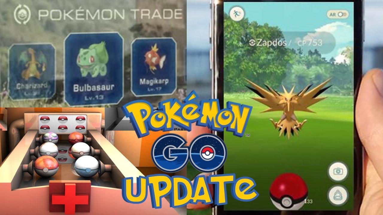 pokemon go update trading centers team leaders new rare pokemon go update trading centers team leaders new rare pokemon zapdos moltres articuno