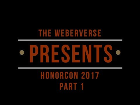 David Weber and Larry Correia at HonorCon 2017 Part 1