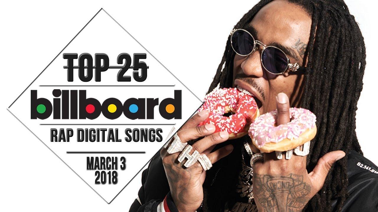 Top 25 Billboard Rap Songs March 3 2018 Download