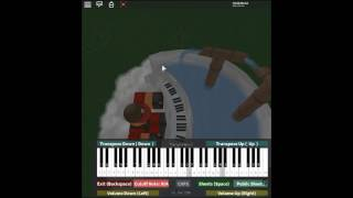 Wake Up - The Journey Home by: EDEN on a ROBLOX piano.