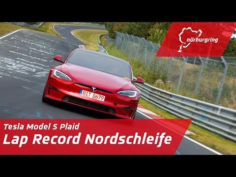 Record Lap Nordschleife | Tesla Model S Plaid