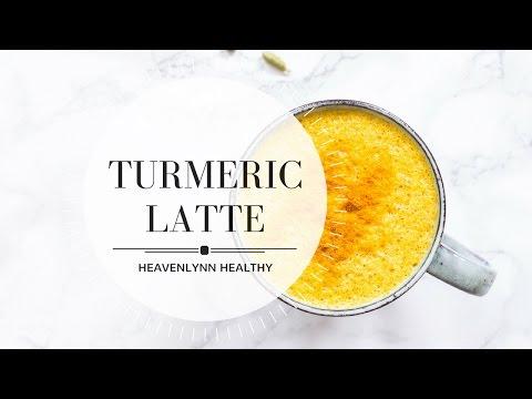 Turmeric Latte (Golden Milk)   Heavenlynn Healthy
