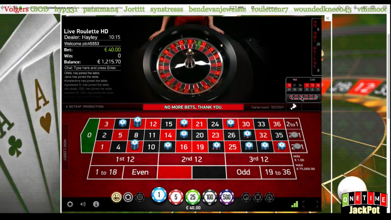 Online roulette is rigged