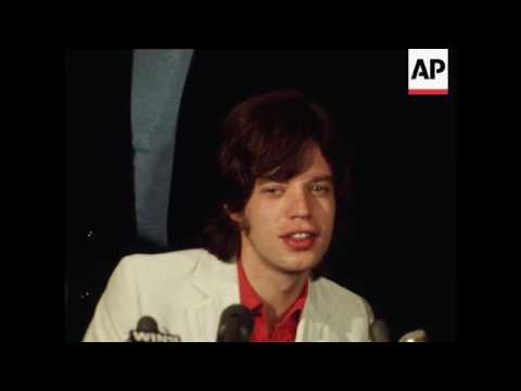 Britain's Rolling Stones give news conference