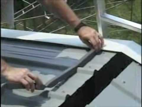 Kroftman H Series Steel Building Install 5 5 Youtube