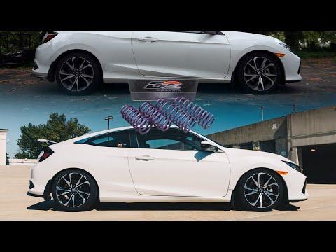 2019 Honda Civic Si | Lowering Spring Install