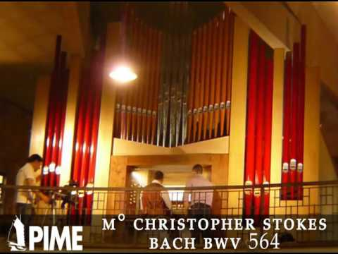 M° CHRISTOPHER STOKES AT THE BIRTH HOUSE OF JOHN XXIII