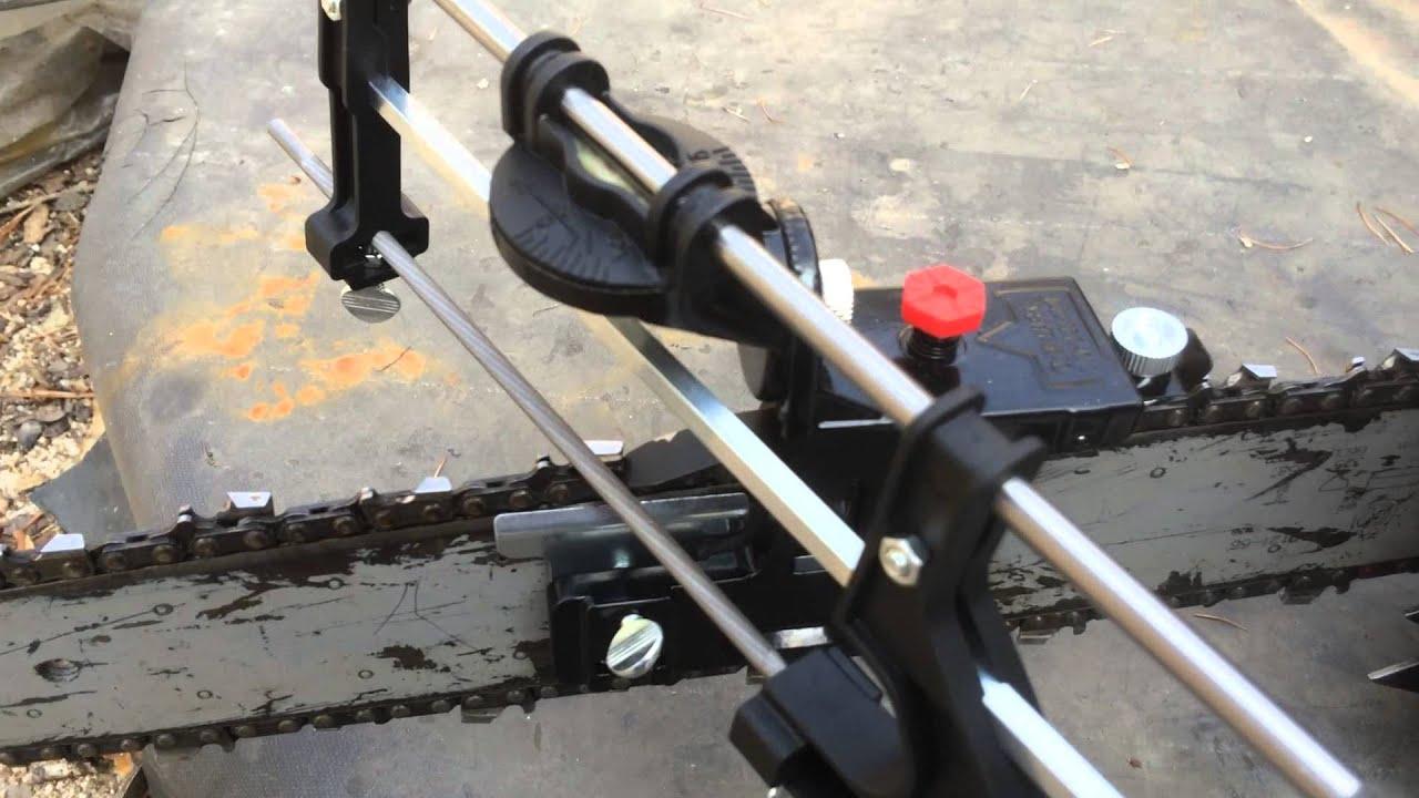 oregon 23736a professional chain saw bar mount filing guide youtube rh youtube com oregon chainsaw sharpener manualdownload oregon chainsaw sharpener instructions