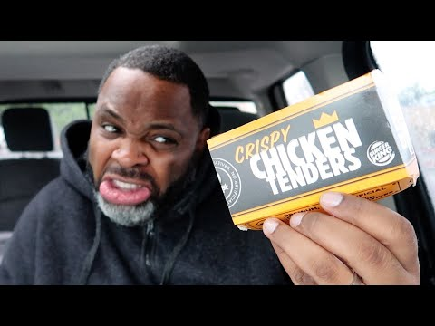 Burger King Crispy Chicken Tenders Review