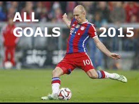 Arjen Robben - All Goals in 2014-2015 HD