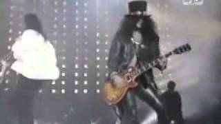 Michael Jackson & Slash - Black Or White [Live]