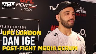 Dan Ige 'Pumped' With Quick Finish Of Dan Henry At UFC London - MMA Fighting