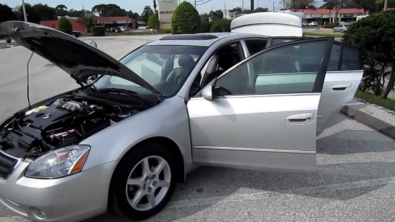 Good SOLD 2002 Nissan Altima SE 3.5 V6 Meticulous Motors Inc Florida For Sale    YouTube