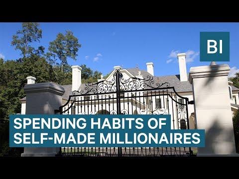 Spending Habits Of Self-Made Millionaires