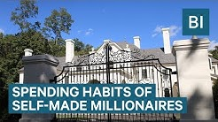 Spending Habits Of Self-Made Millionaires