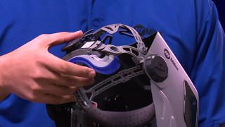 miller t94 series welding helmets headgear adjustment