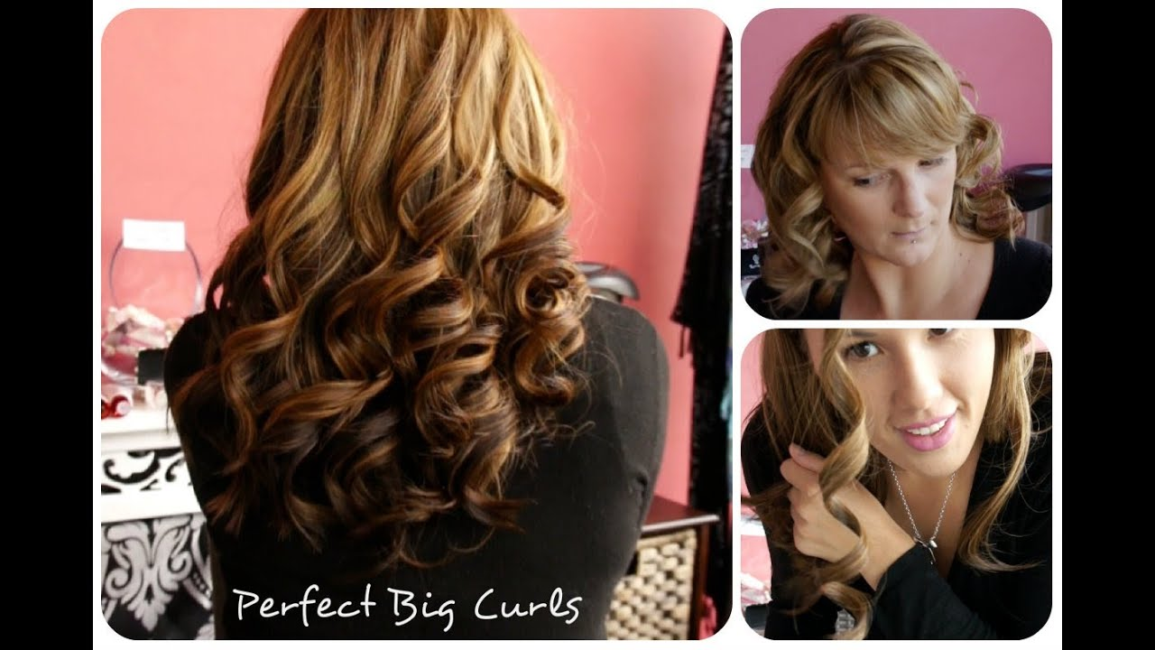 Curls Without The Ghd Remington Perfect Big Curls Youtube