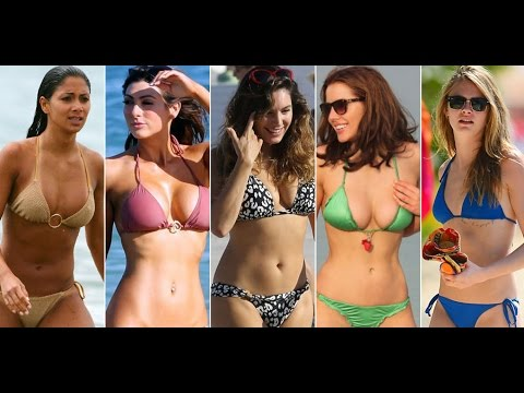 Top 10 Sexiest Hollywood Celebrity Bikini Bodies