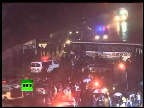 Manila hostage taking by a police Mendoza bus hijack (2010)