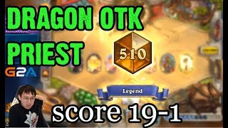 [Trump] Dragon OTK Priest - 95% Winrate!