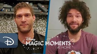 #DisneyMagicMoments: NBA Stars Brook & Robin Lopez Share Favorite Walt Disney World Resort Memories